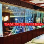伏羲皇玛超大型鱼缸水族图片