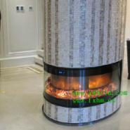 颠覆传统欧式设计的新派中式壁炉图片