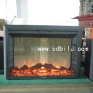 LED火焰拉链网视窗电壁炉图片