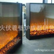酒店宾馆洗浴中心2米高大型壁炉图片