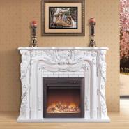 VA272白色电壁炉的优点图片
