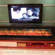 双流航空港电视柜壁炉图片