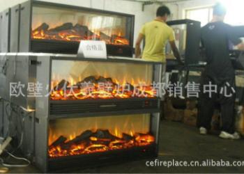 欧式壁炉真火壁炉图片
