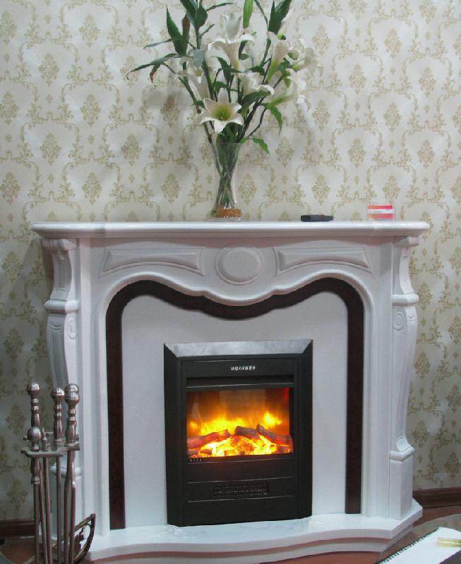 供应TH135-18S1木质白色套装电壁炉