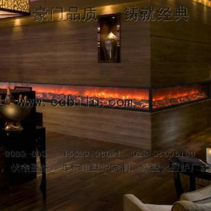 酒店壁炉图片