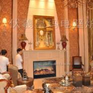 客房壁炉图片