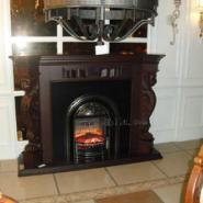 壁炉火图片