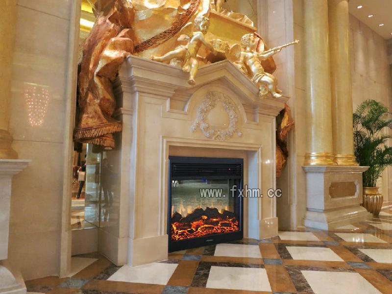 供应喜来登酒店壁炉;寻找高端装饰壁炉;伏羲品牌电壁炉; 大理石壁炉