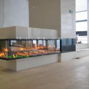 青岛电壁炉图片