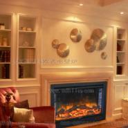 成都金堂业主客厅壁炉图片
