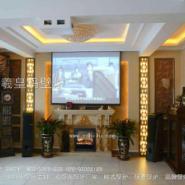 客厅电壁炉装饰图片
