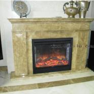 阿坝州业主客厅壁炉装饰案例图片