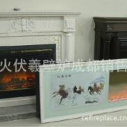 平衡式燃气壁炉图片