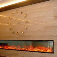 上海松江别墅群大型壁炉工设计定制图片
