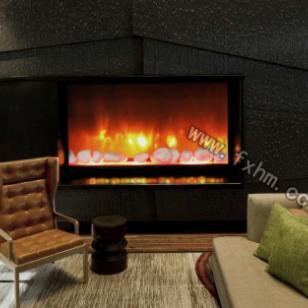 咖啡厅壁炉图片