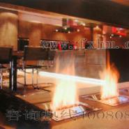 酒精壁炉装饰采暖器图片