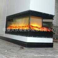 北京星级酒店宾馆超大欧式壁炉设计图片