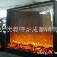 专业会所酒吧迪厅歌城大型景观壁炉图片