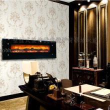 供应壁挂液晶彩电式壁炉;装饰;伏羲壁炉;背景墙;火焰