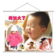 郑州喷绘写真X展架图片