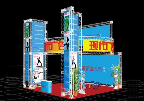 郑州桁架搭建郑州展厅搭建行架出租航架租赁会议背板制作