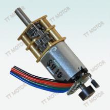 供应用于个人护理的带编码器的N20减速电机,