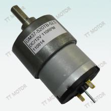 供应用于小家电|家用电器|美容设备的37GA-520直流减速电机,