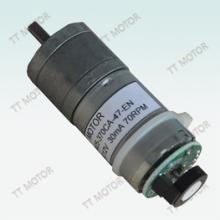 供應用于通信設備|接收天線|基站天線的帶編碼器370CA直流減速電機,圖片