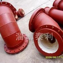 供应山东泰利耐磨陶瓷管道