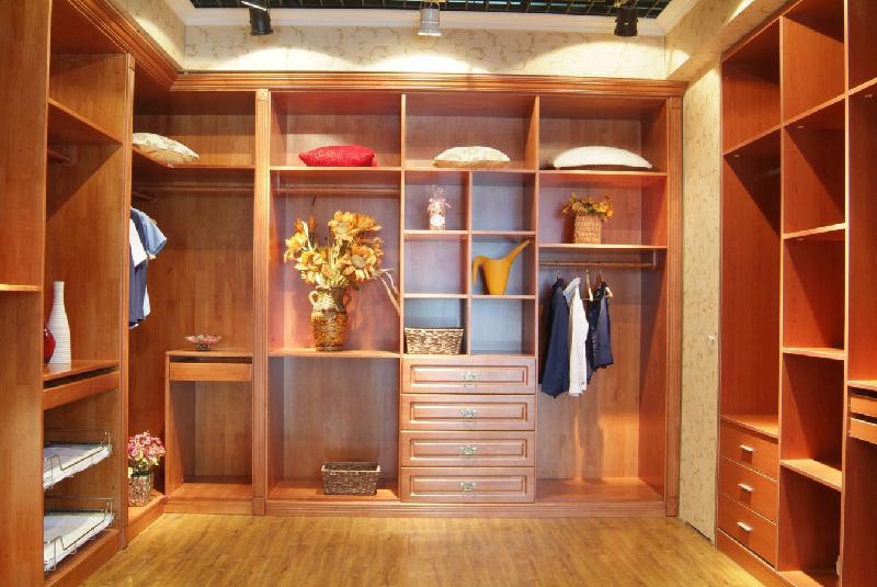 无锡市实木衣柜生产安装价格图片