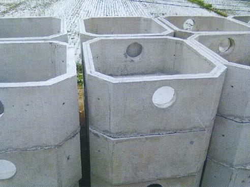 绿色环保混凝土预制检查井 化粪池图片
