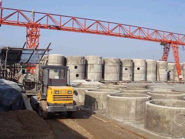 新型预制钢筋混凝土组合式化粪池图片