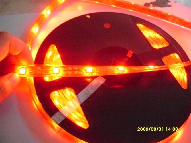 供应5050软灯条一米30灯橙色图片