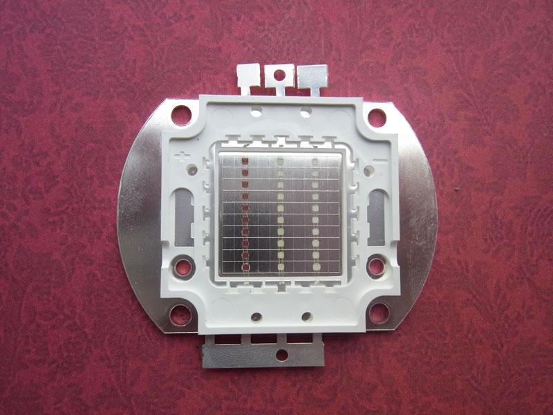 供应LED集成光源30W集成RGB七彩光源