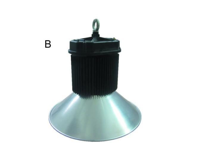 供应LED新款工矿灯120W椭圆散热器