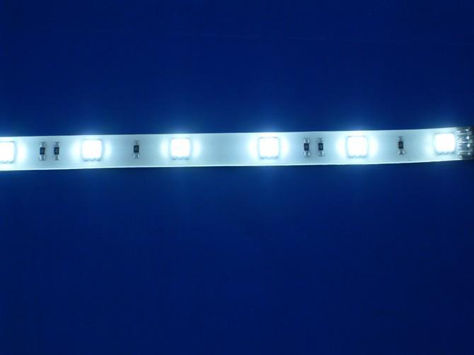 供应5050软灯条30CM12灯蓝光图片
