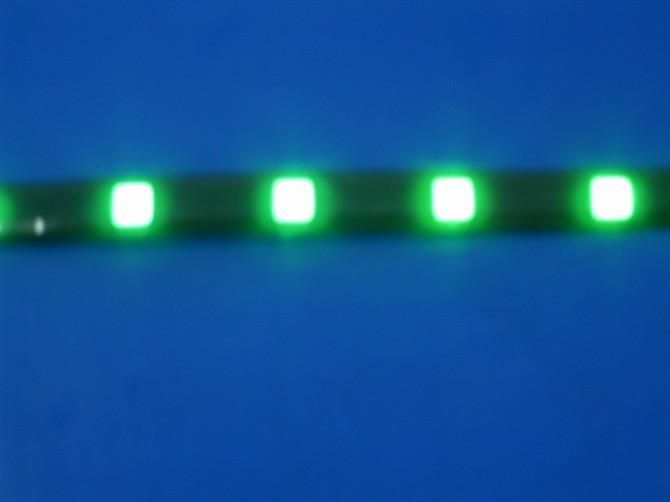 供应5050软灯条一米30灯绿光图片