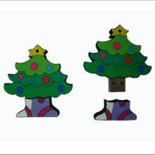 供应圣诞树u盘礼品