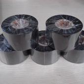 供应苏州联合US170蜡基碳带批发价。 洗水唛条码碳带。不干胶碳带图片