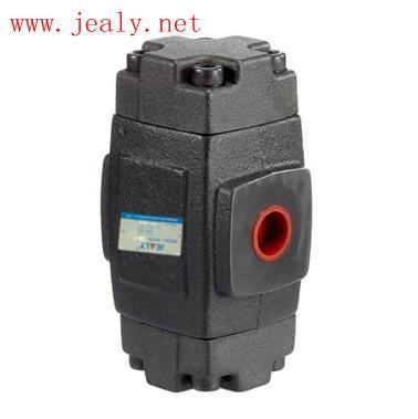 液控单向阀1,液压单向阀除了压力超过设定的弹簧开启