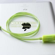 供应IPHONE苹果发光线IPAD发光数据线批发