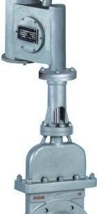 电液动带盖刀闸阀图片