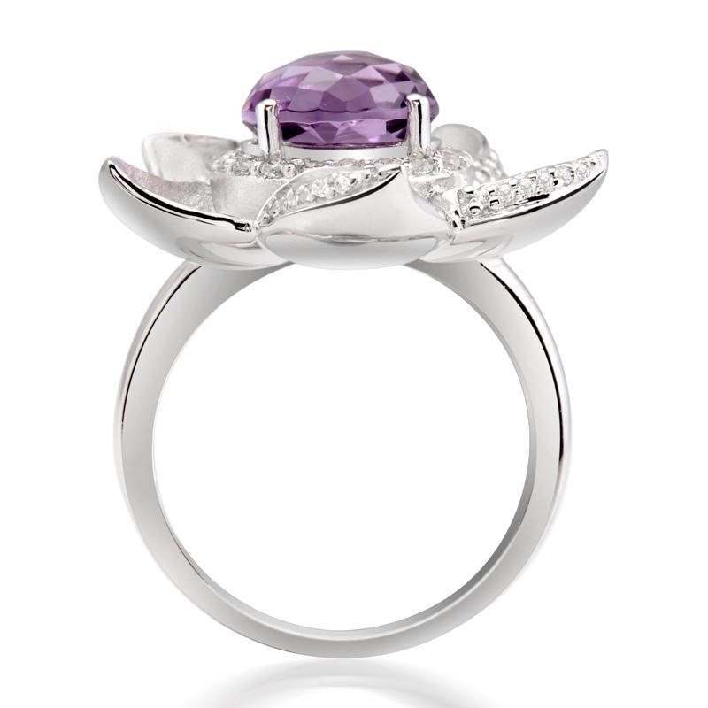 【紫水晶·戒指】紫水晶戒指