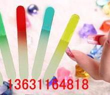 厂家生产玻璃指甲锉蒙砂剂,美容院专用