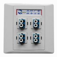 SC/FC/ST/LC单口光纤面板图片