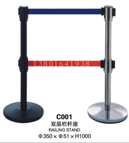 供应彩塘大头栏杆座/双层栏杆座