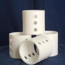 供应鄂州市pc瓷质填料价格陶瓷鲍尔环拉西环图片