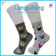 供應廣州襪子加工廠家潮流時尚精梳棉提花女襪圖片