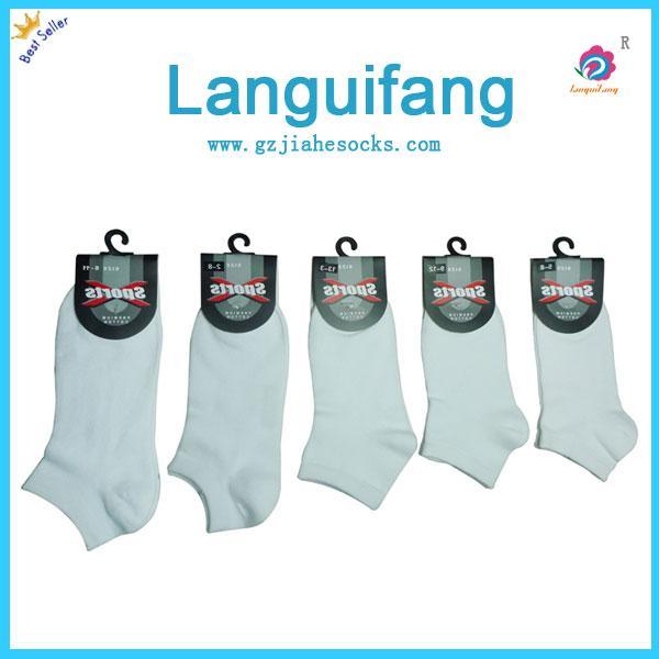 纯色短中统学生袜/校服袜销售