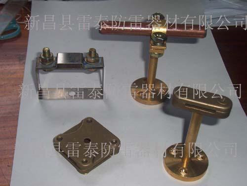 供应浙江铜包钢接地棒连接电线线夹,单螺栓铜夹子,G型接地线夹批发